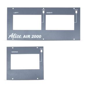 Air 2000 Meter Metalwork LEDs